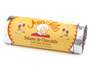 Salame de Chocolate com Vinho do Porto 450gr